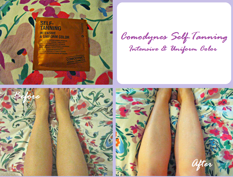 Comodynes intensive self-tanning towelettes